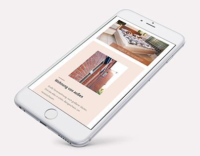 ferienloft-chemnitz.de – Concept Holiday Home Website