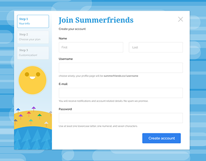 Sign Up - #dailyui
