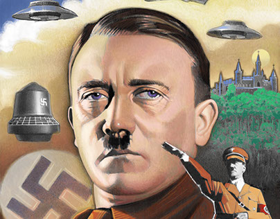 "DVD Cover ""3rd Reich: Hitler's UFO's"""