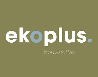 Identity EKOPLUS ecologische bouwstoffen
