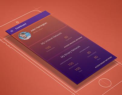 Dashboard - Material Design