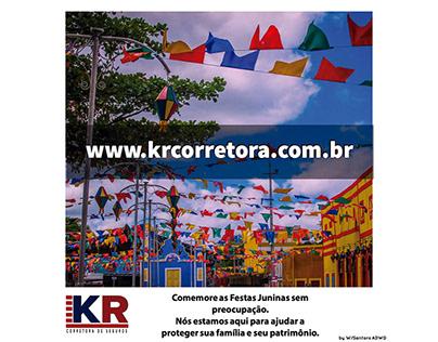 Banner Redes Sociais - KR Corretora