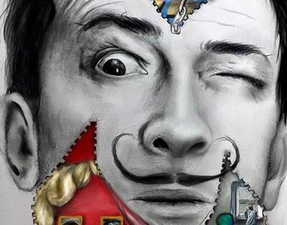 Dali's Mind Unzipped