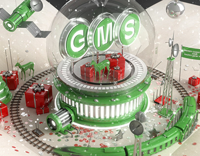 New Year greeting animation for GMS company