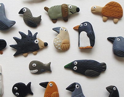 Brooches 1