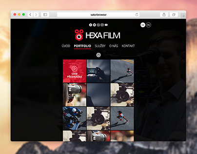 HexaFilm Webdesign