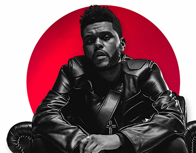 The Weeknd - Daily UI Challenge