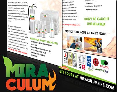 Miraculum Logo & Sales Sheet