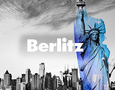 Berlitz language school | artwork for classrooms
