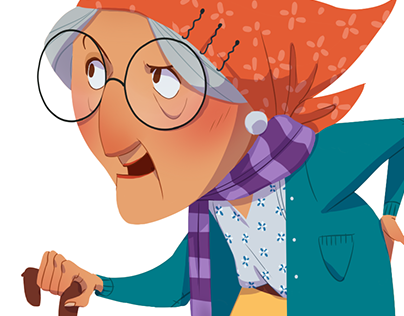 Old Lady | Character Design