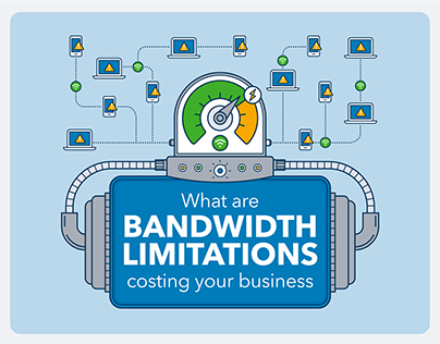 Cost of Bandwidth Limitations Infographic