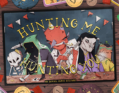 'Hunting Me, Hunting You' Tabletop Game