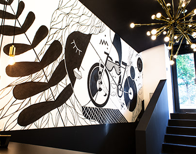 Mural for Supercycle 1010