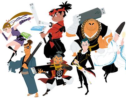 Shichinin no USB Samurai