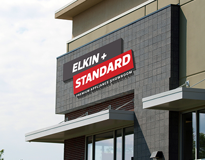 Elkin + Standard Appliance Showroom Branding