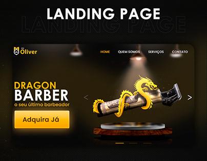 Landing page- shaving machine