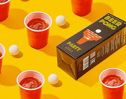 Packaging Banner Beerpong