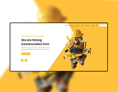 Construction Firm Site