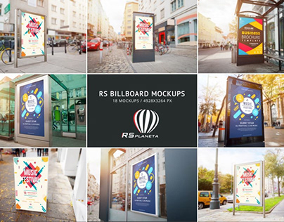 RS Billboard Mockups