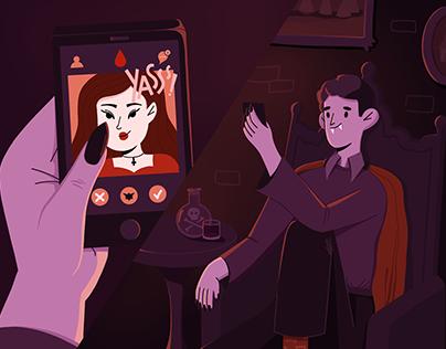 Vampire in a digital world