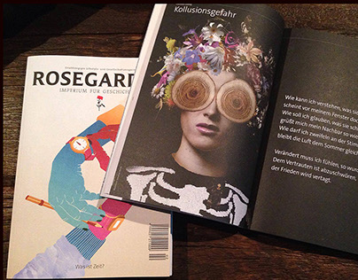 Artwork for Rosegarden Magazine