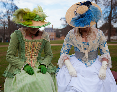 Colonial Ladies.