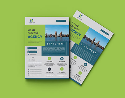 Corporate Business Promotion Flyer Design (FREE)