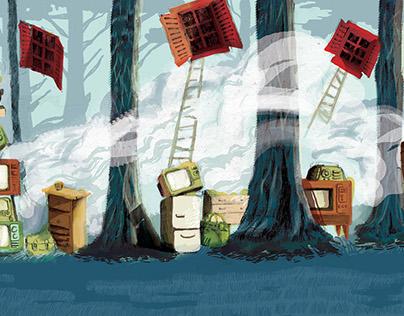 """""""Get Lost"""" illustration book"""