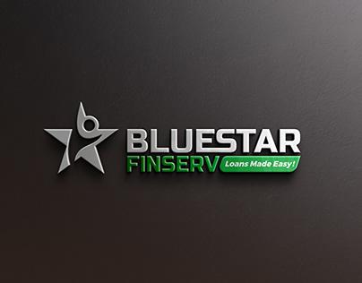Bluestar Finserv Logo Design