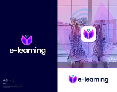 Learning Logo Design - Modern Logo - Education Logo