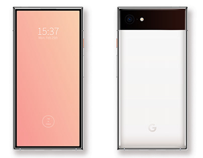 [What if] I could design a Pixel smartphone for Google