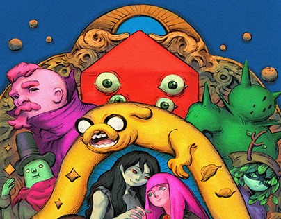 Adventure Time Variant Covers #7-12