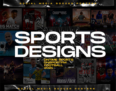 Soccer Social Posters ( Sports Graphics )