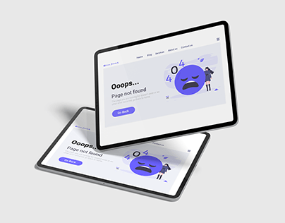 Daily UI Design Challenge | 404 Page
