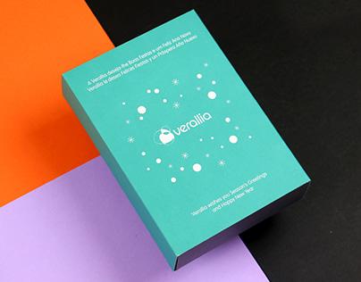 Verallia 2018 corporate christmas gift packaging