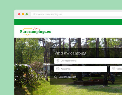 Eurocampings.nl: Restyling navigational system and more