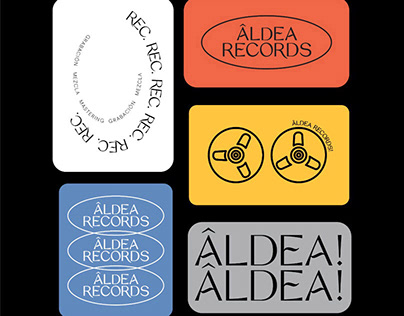 Aldea Records | Branding
