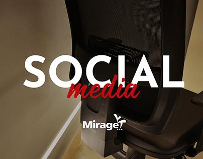 Social Media - Mirage Móveis para Escritório