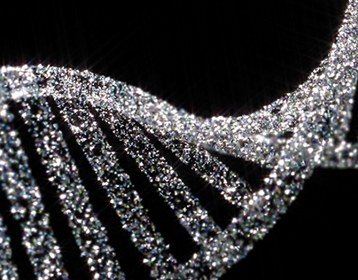 DNA strand 3D Animation