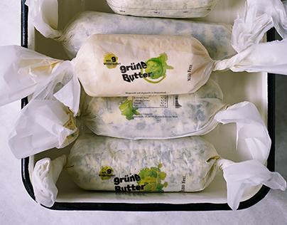 grüne Butter - Branding