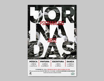 Poster Design_Jornadas de Psicoanálisis & Arte