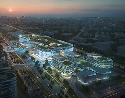 Nanjing Dajiaochang Airport Mixed Use Development