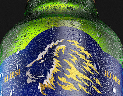 LAV Beer Bottle Render