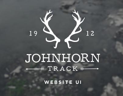 Johnhorn Track - Website UI