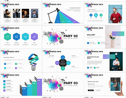 27+ official presentation PowerPoint template