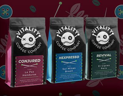 Vitality Coffee Co. Branding Concept