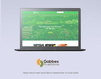 Gabbes Frukthörna | E-commerce Website