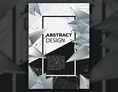Abstract Cover / poster design