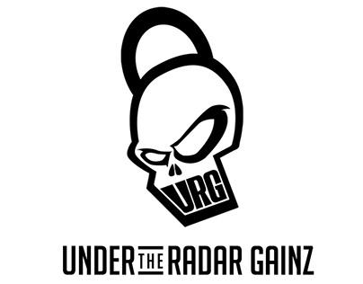 Under The Radar Gainz - Logo Design
