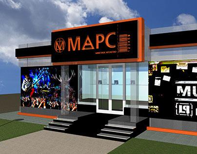 Ticket-concert agency entrance